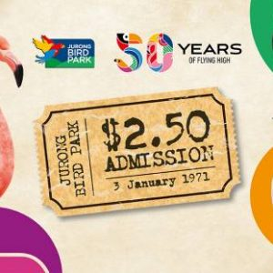 Jurong Bird Park 2021 Jan promotion