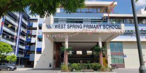 West Spring Primary School in Bukit Panjang