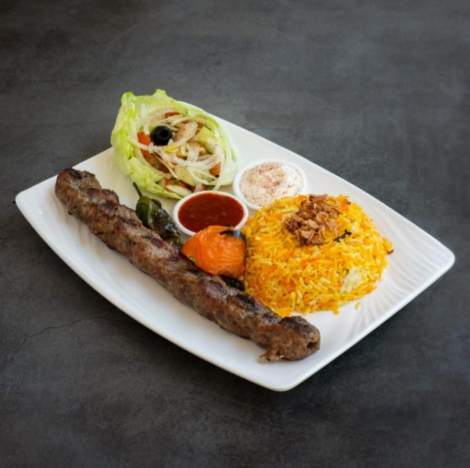 Kebabs in Kebabwala in Hillion Mall