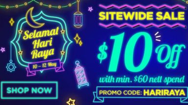 Watsons Promotions - Get $10 off min $60 orders at online store with this code valid till 12 May 2021